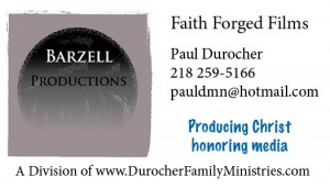Barzell Productions Bus Card